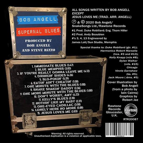 Bob Angell - Supernal Blues
