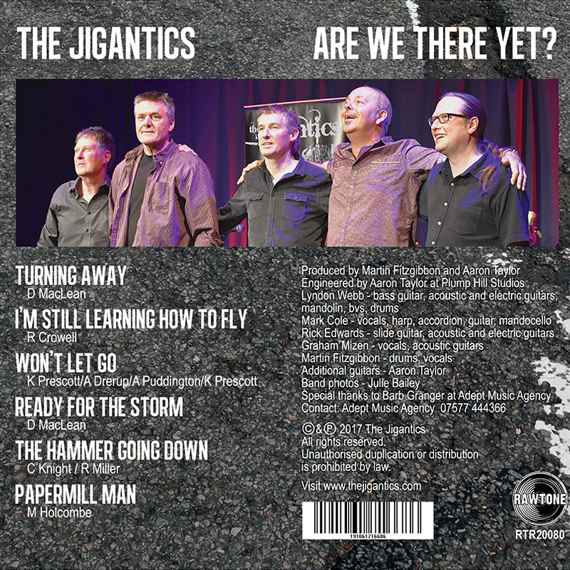 The Jigantics - Are We There Yet?